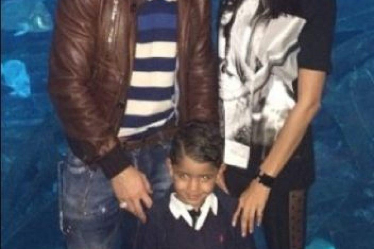 Ronaldo, su hijo e Irina en una visita al acuario en diciembre de 2013. Foto:instagram.com/cristiano. Imagen Por: