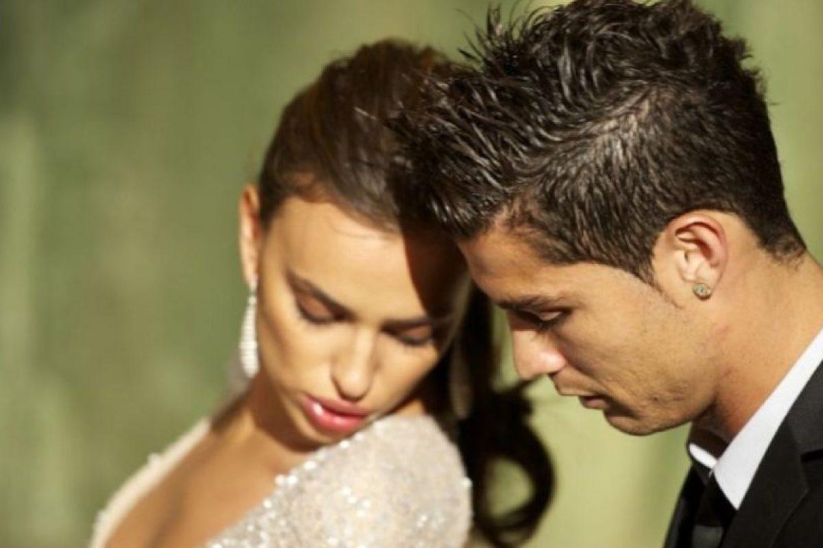 Irina y Cristiano en los Marie Claire Prix de la Moda Awards 2011 durante noviembre de ese año. Foto:Getty Images. Imagen Por: