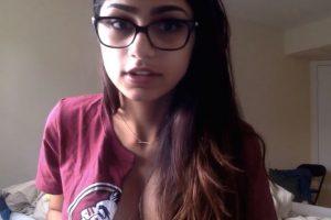 La actriz porno es seguidora del equipo de fútbol americano de la Universidad de Florida State Foto:Youtube: College Spun. Imagen Por: