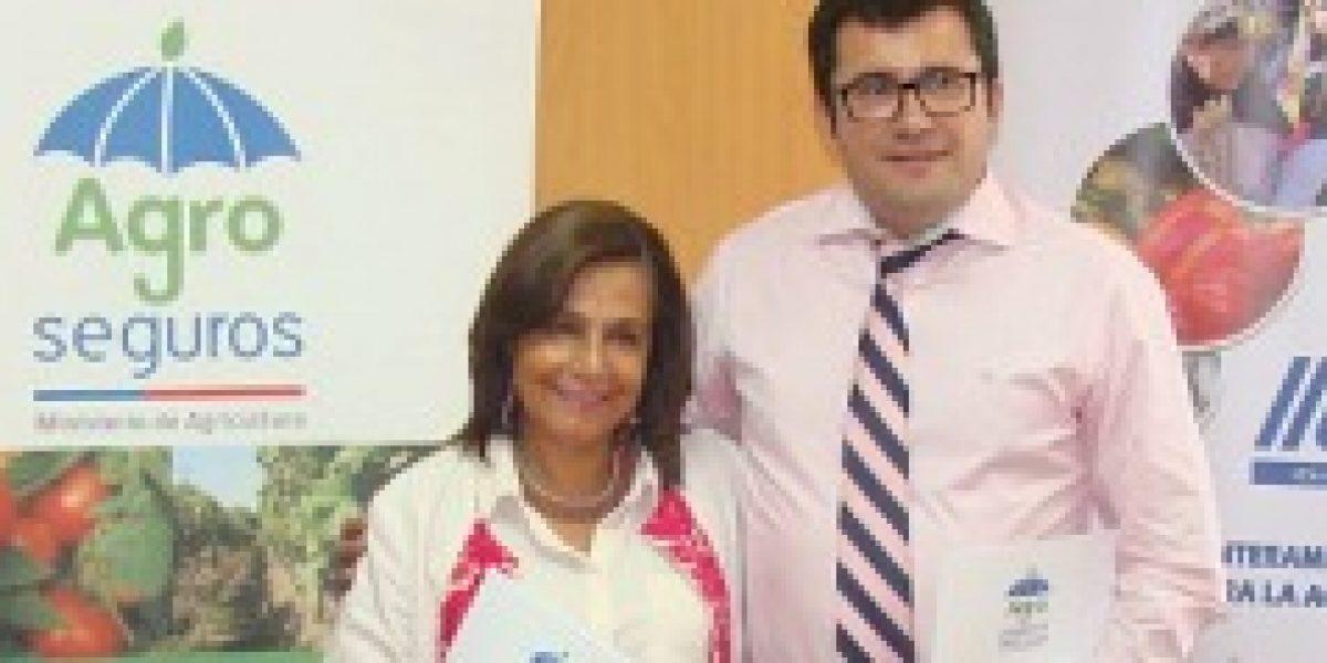 Agroseguros e IICA Chile firman Convenio de Cooperación Técnica sobre Seguros Agropecuarios