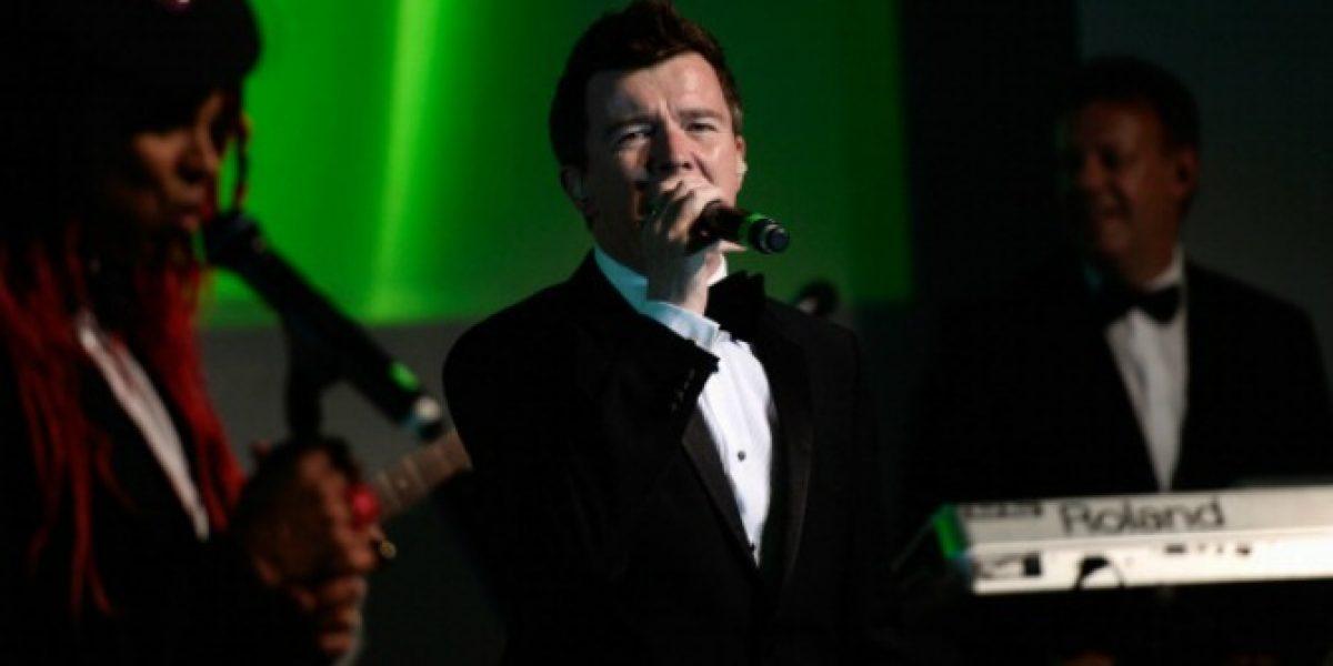 Confirman a Rick Astley para el Festival de Viña del Mar