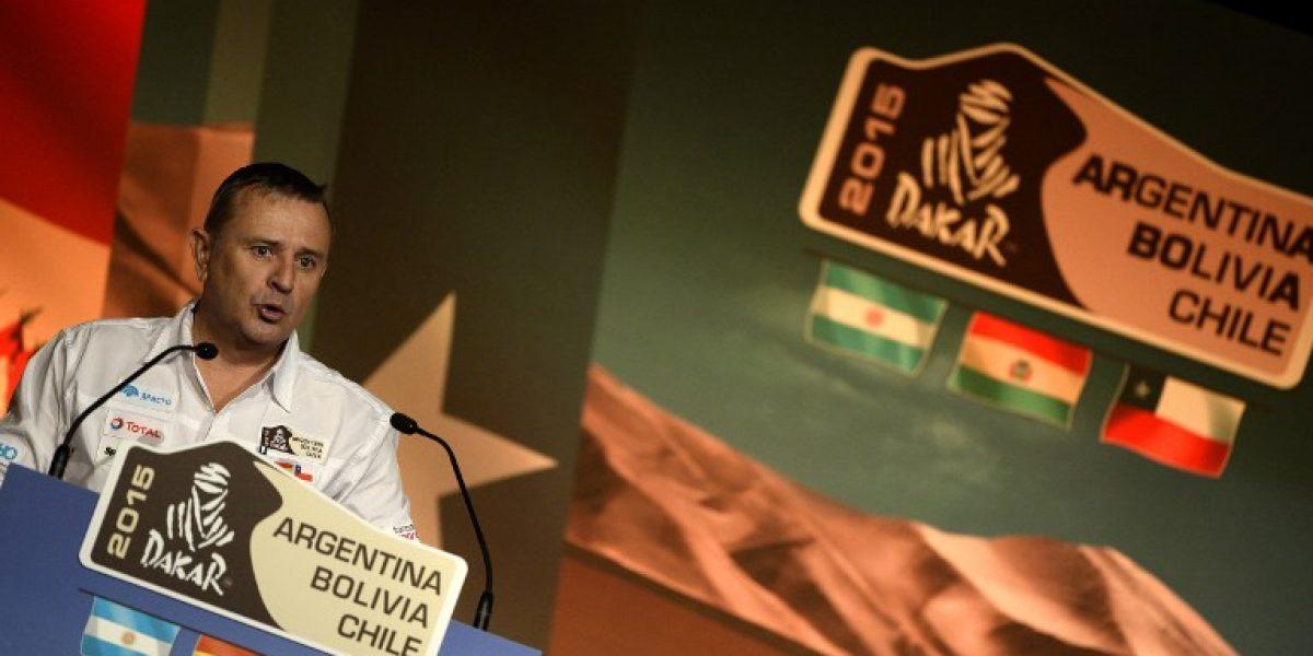 ASO le pone plazo a Chile para decidir su futuro en el Dakar 2016