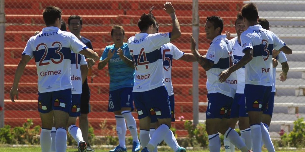 Galería: El triunfo parcial de la UC ante Cobreloa en El Salvador