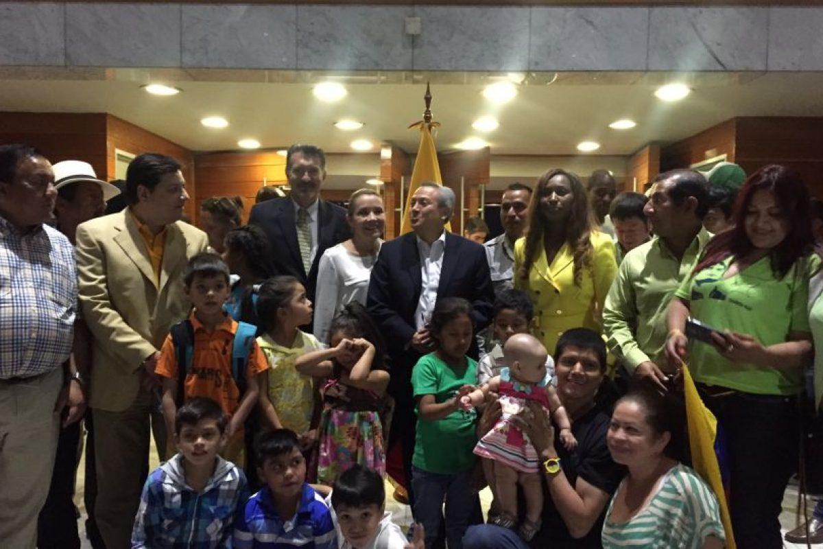 La comunidad ecuatoriana. Imagen Por:
