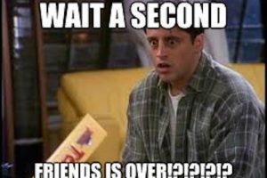 Joy aún nop puede creer que Friends haya terminado Foto:Twitter. Imagen Por: