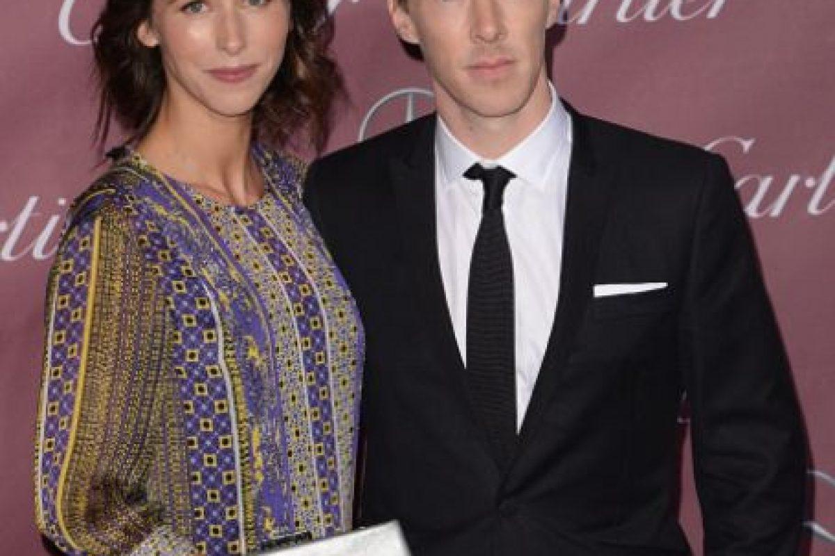"""La dramaturga anunció su compromiso con el famosísimo actor británico en la sección de compromisos del """"Times"""". También confirmó su embarazo. Foto:Getty Images. Imagen Por:"""