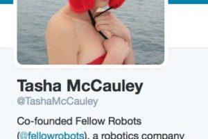 Es directora de desarrollo de negocio en Geosim, una compañía de tecnología geoespacial. Es copropietaria de la misma. Foto:Twitter/TashaMcCauley. Imagen Por: