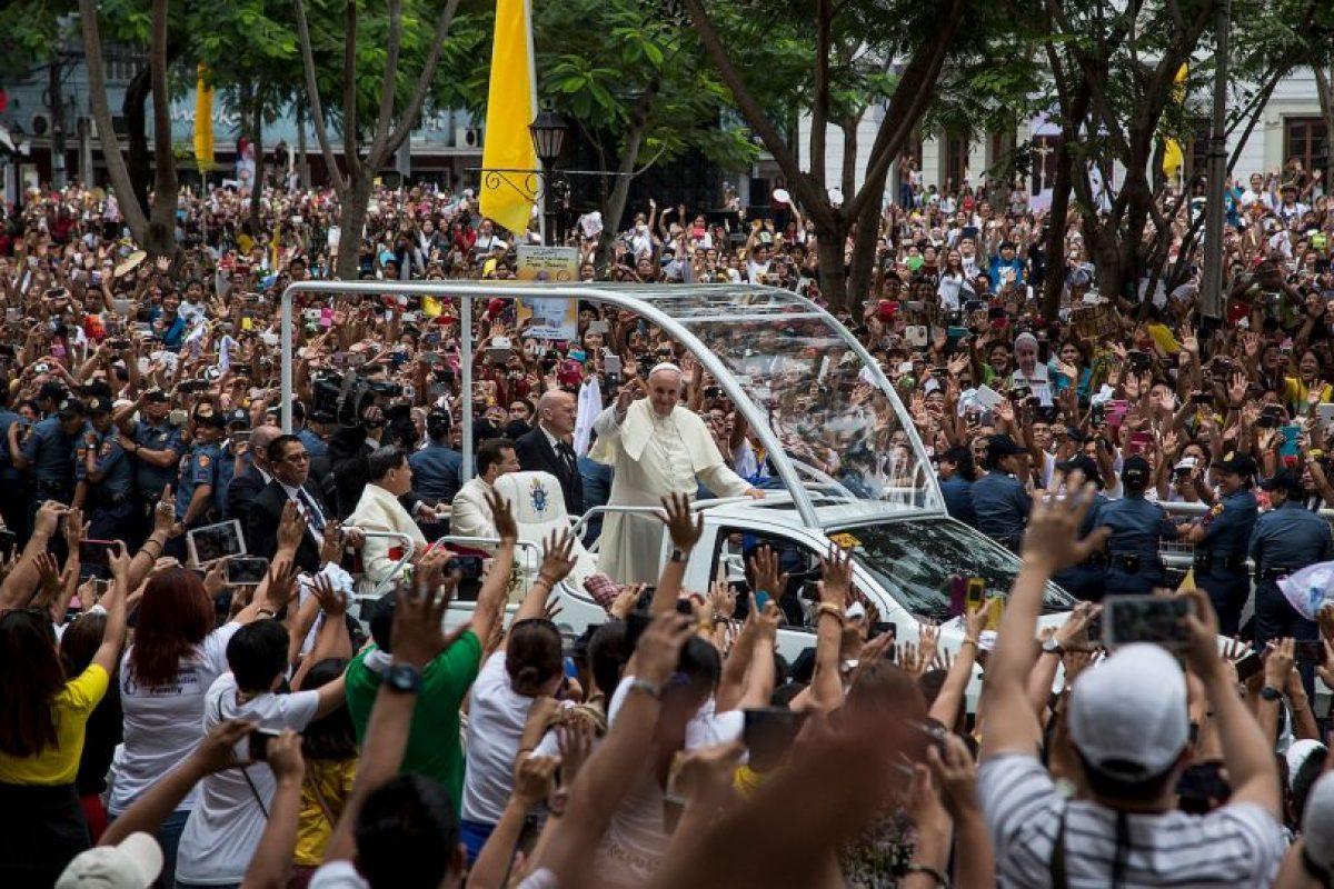 """Paulo VI escribió la encíclica de 1968 """"Humanae Vitae"""", que consagró la oposición de la Iglesia al control artificial de la natalidad. Foto:Getty Images. Imagen Por:"""