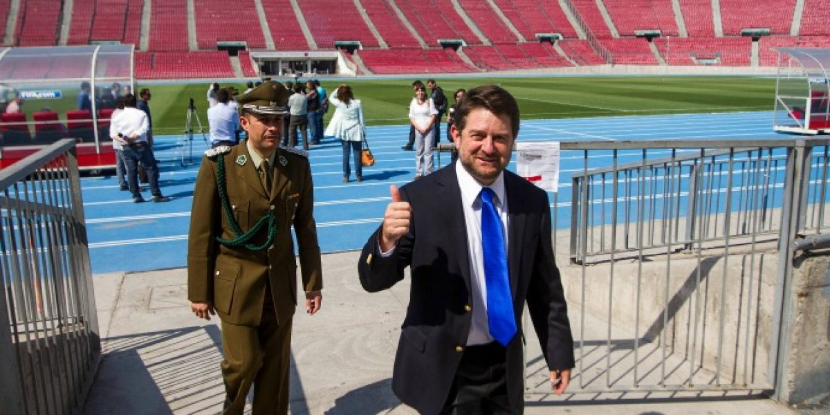 Intendente Orrego y estadio de la U: