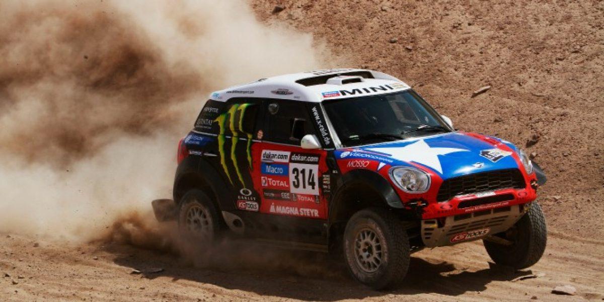 Boris Garafulic culminó 12° en la categoría de autos del Dakar