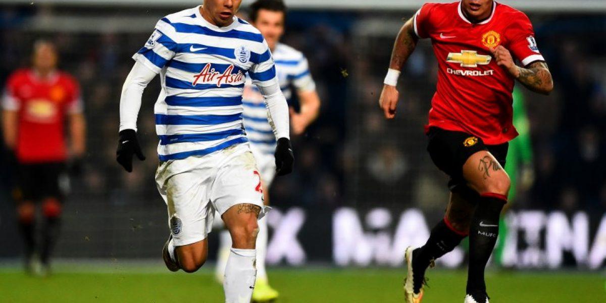 QPR cayó ante el Manchester United y vuelve a la zona de descenso