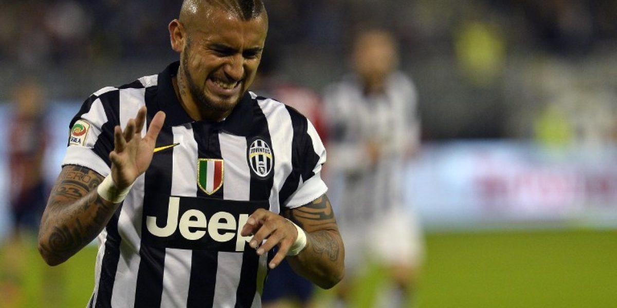A descansar: Vidal no fue citado para duelo de Juventus pese a ser dado de alta