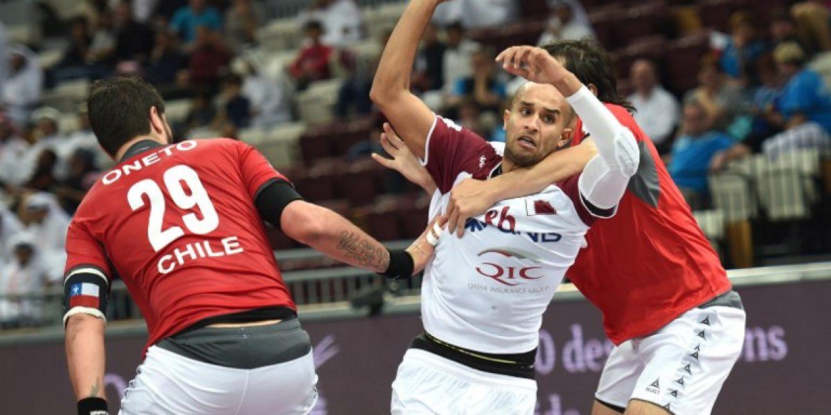 Chile luchó pero no pudo ante Qatar y sumó su segunda caída en el Mundial de Hándbol