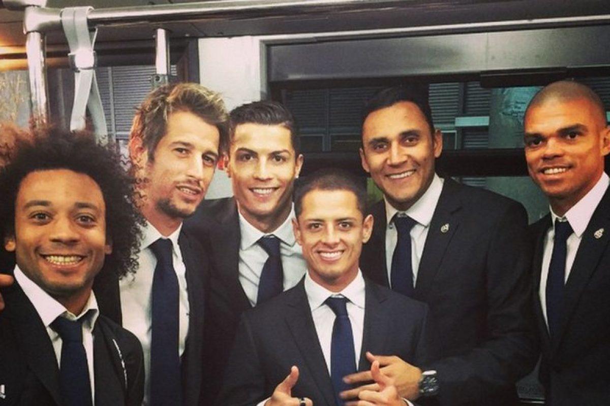 Foto:Instagram Javier Hernández. Imagen Por: