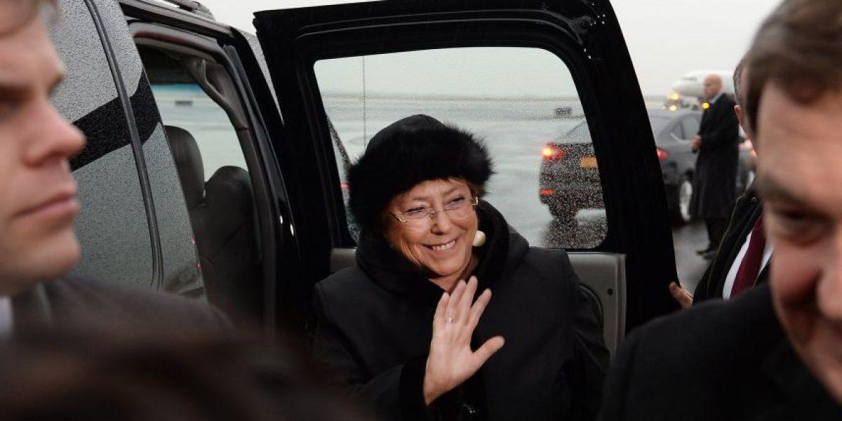 Presidenta Michelle Bachelet tuvo una fría recepción en Nueva York