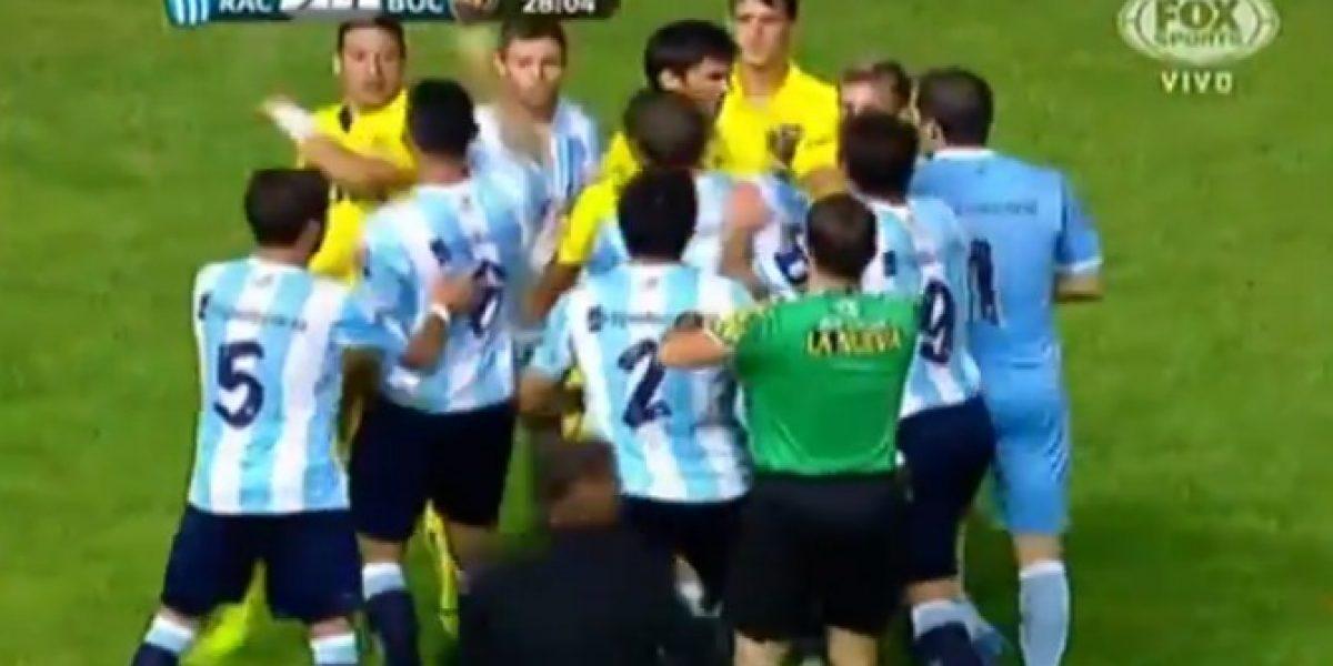 Video: la terrible patada que instaló la polémica en el fútbol argentino