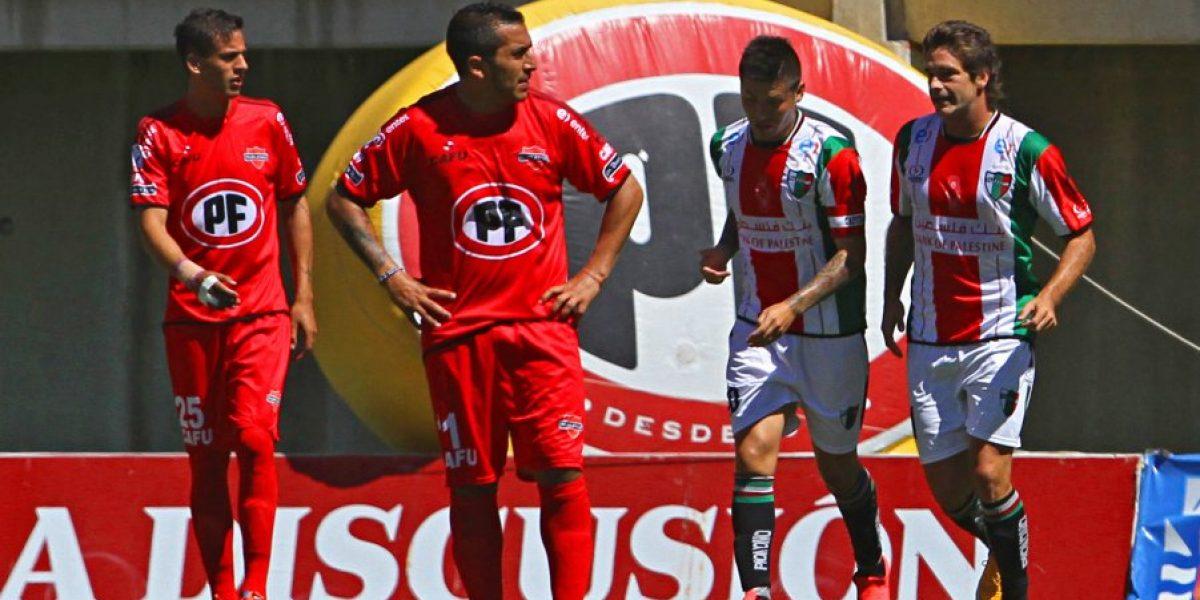 Palestino se acordó de ganar gracias al olftato goleador de Diego Chaves