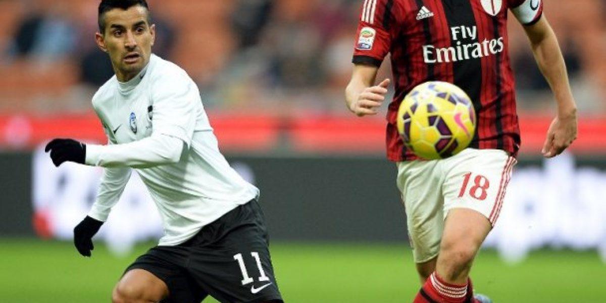Pinilla y Carmona aportaron en sorpresiva victoria del Atalanta sobre el Milan en San Siro