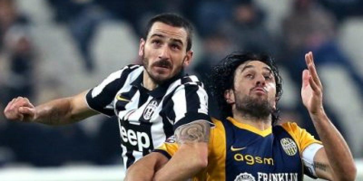 La Juventus sin Vidal goleó al Verona y sigue firme en la cima de Italia