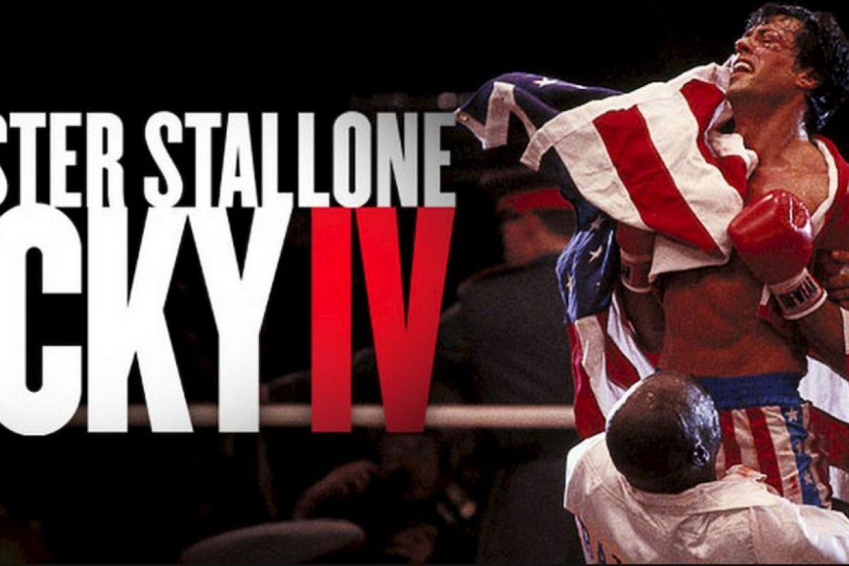 """El estreno de la película """"Rocky IV"""" Foto:MGM/UA Entertainment Co. Imagen Por:"""
