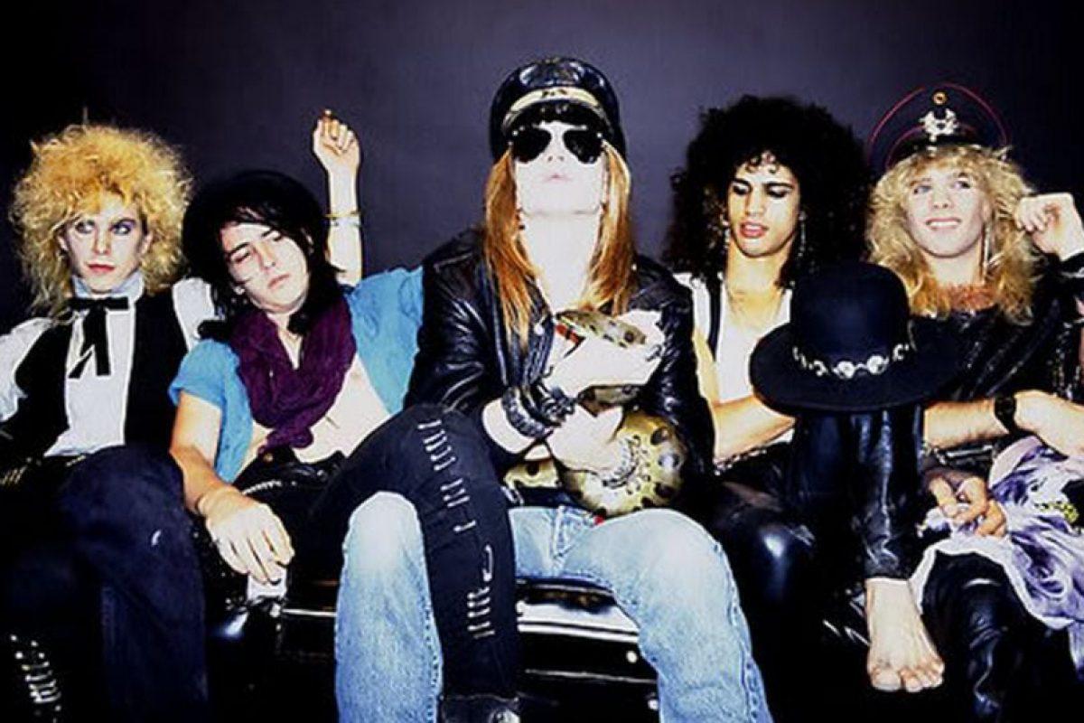 La formación de la banda Guns N' Roses Foto:taringa.net. Imagen Por: