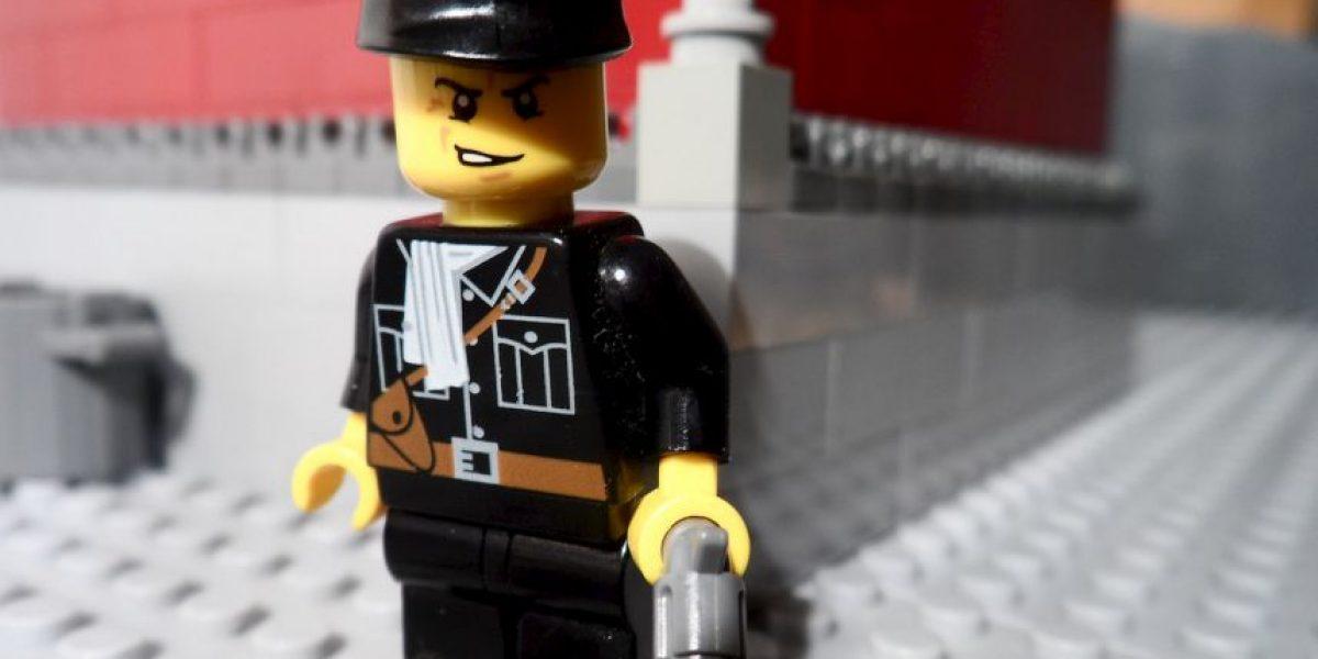 FOTO: Un joven de 16 años explica el nazismo con figuras de Lego