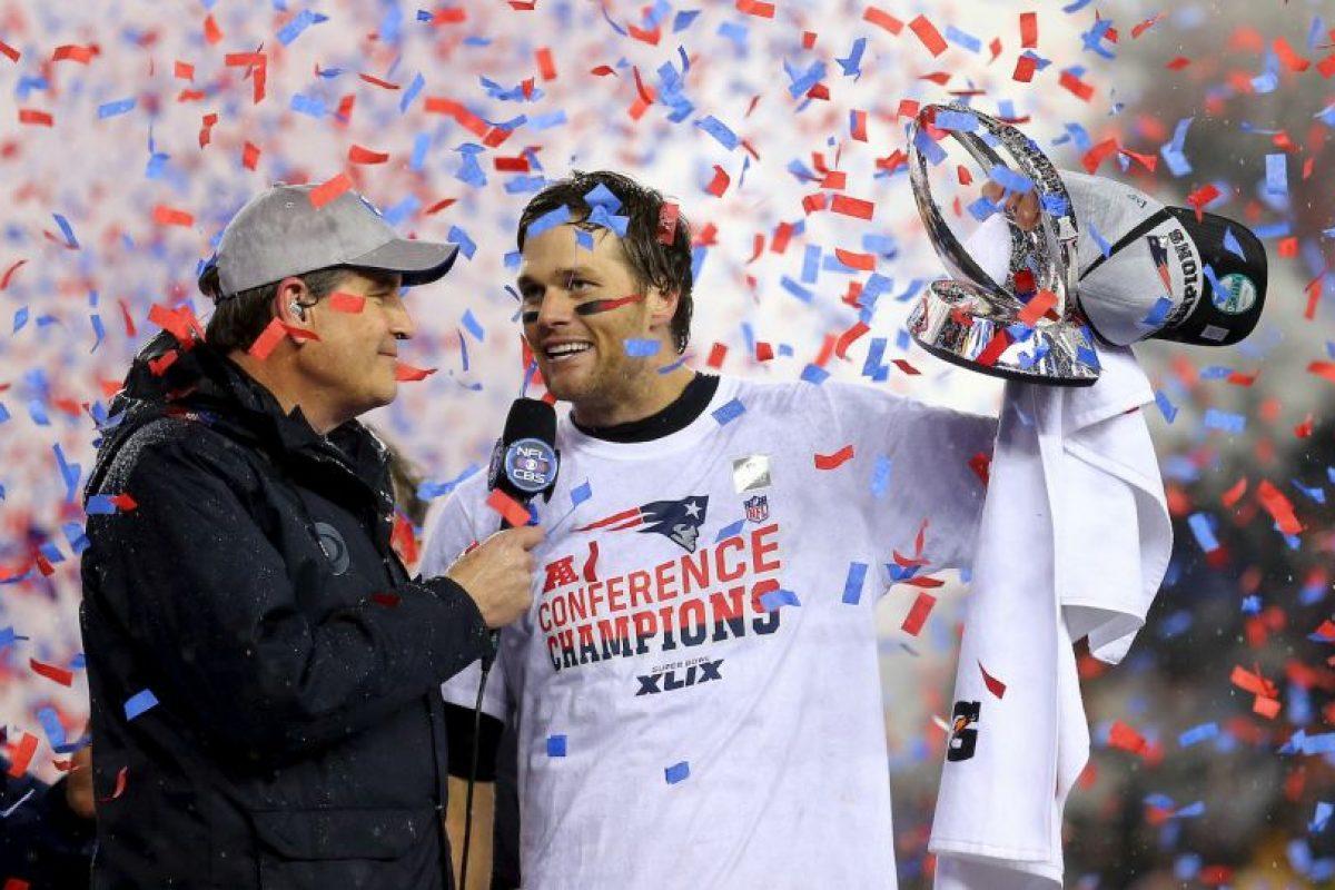 Llegan a su séptimo Super Bowl en las últimas 14 temporadas Foto:Getty. Imagen Por: