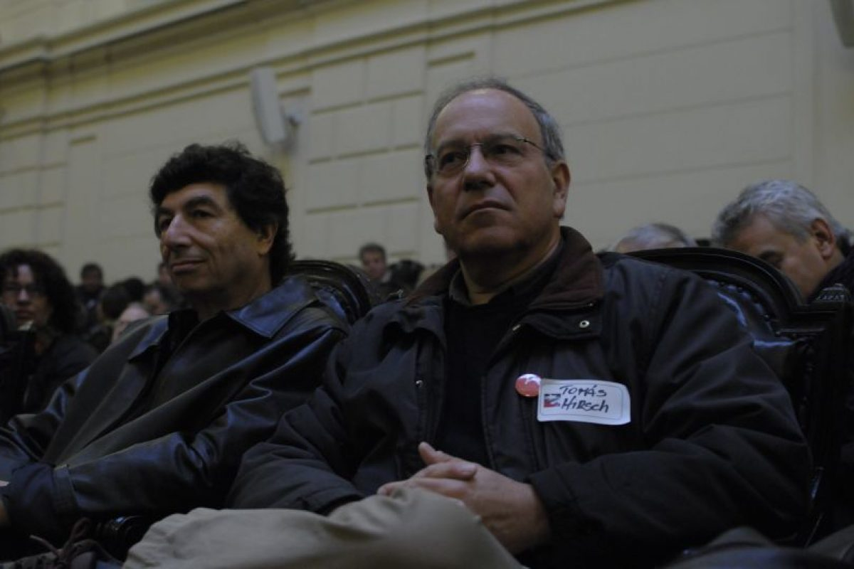 Tomás Hirsch Foto:Agencia Uno. Imagen Por: