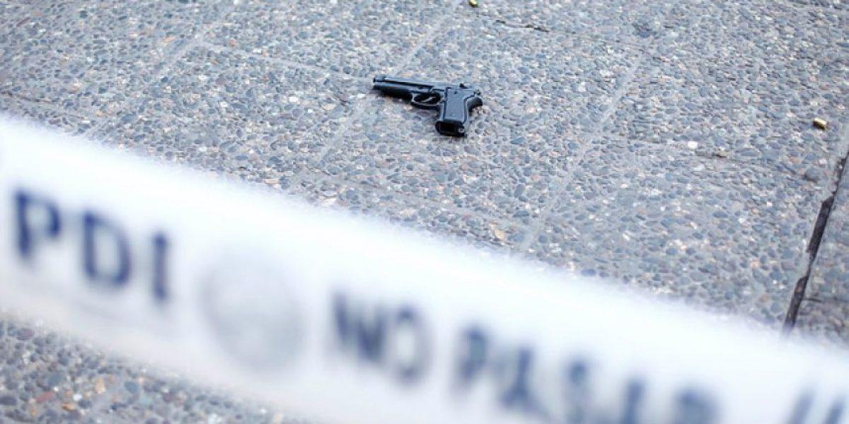 Balacera en La Florida terminó con un joven muerto y otro gravemente herido