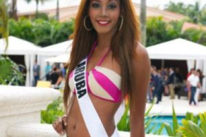 Miss Aruba Foto:missuniverse.com. Imagen Por: