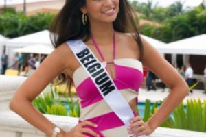 Miss Bélgica Foto:missuniverse.com. Imagen Por: