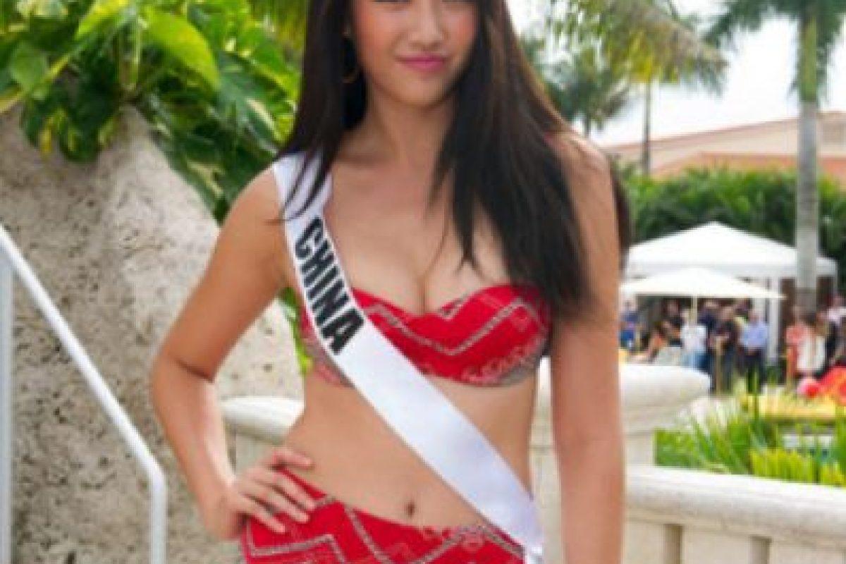 Miss China Foto:missuniverse.com. Imagen Por: