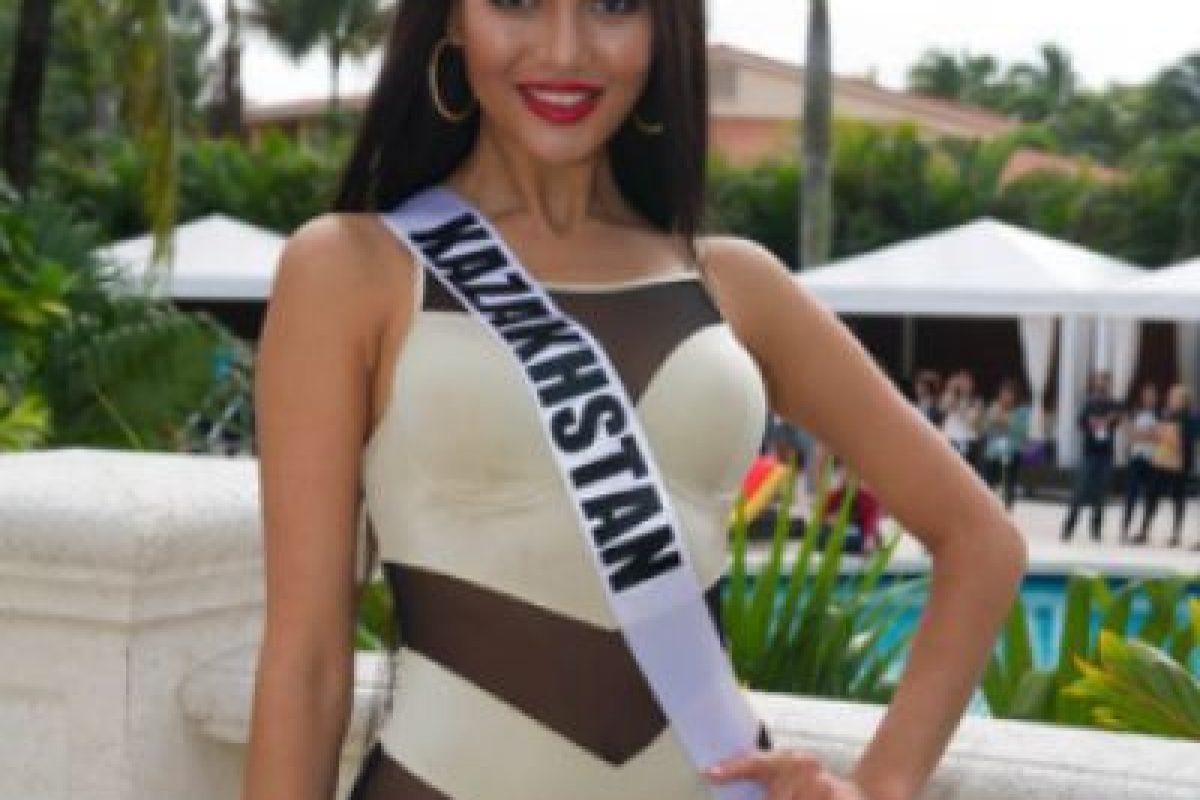Miss Kazajistán Foto:missuniverse.com. Imagen Por: