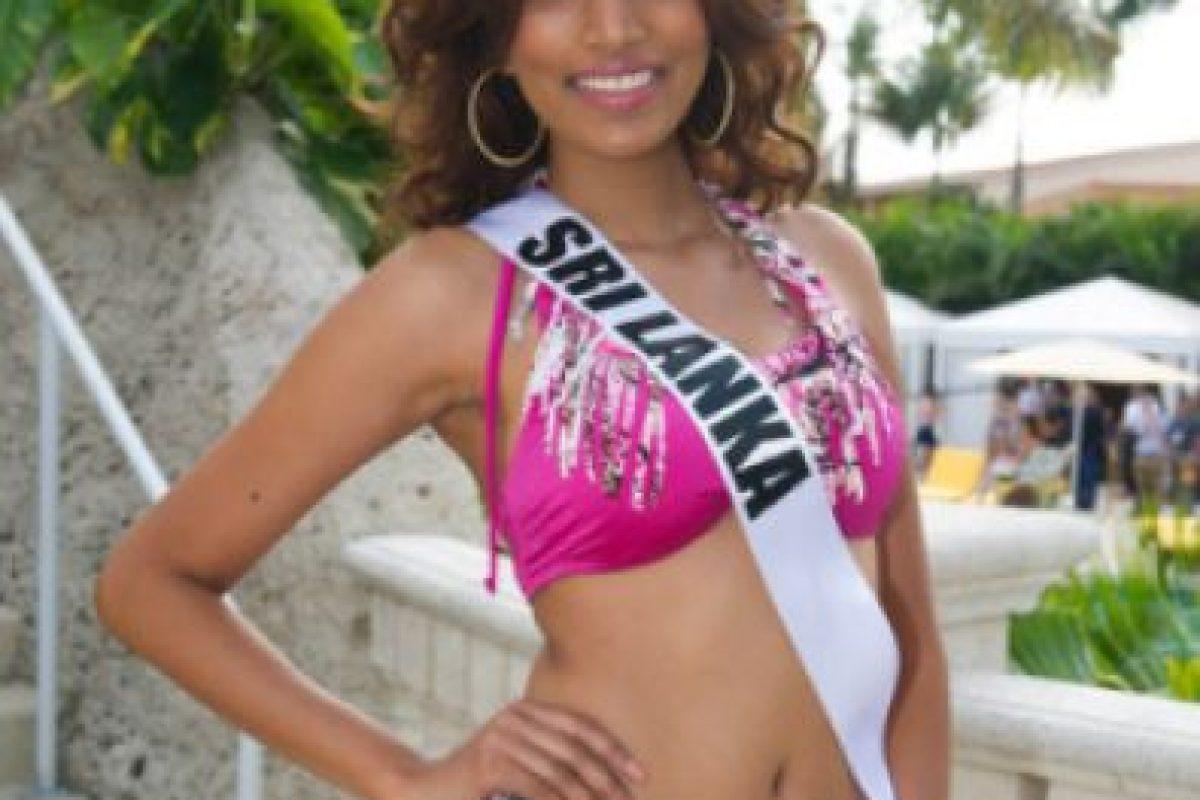Miss Sri Lanka Foto:missuniverse.com. Imagen Por: