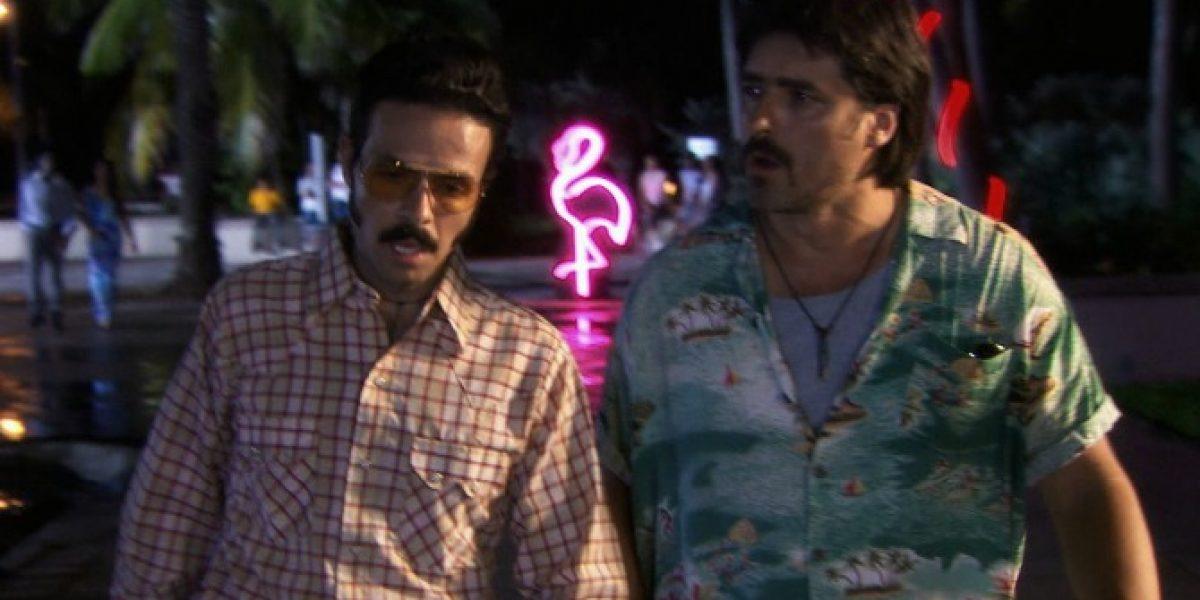 Jorge Zabaleta debutó como narcotraficante en TVN