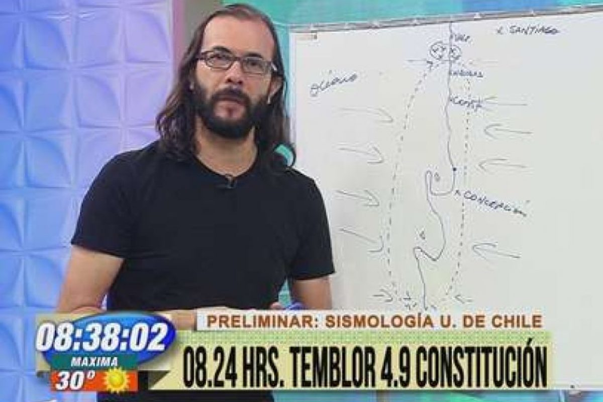Marcelo Lagos Foto:Reproducción / TVN. Imagen Por: