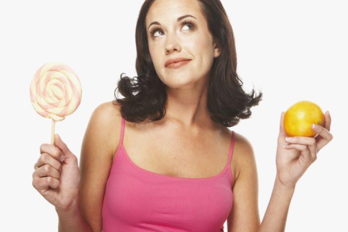 Si te propones bajar de peso tienes que ser disciplinada. Foto:Clipart. Imagen Por: