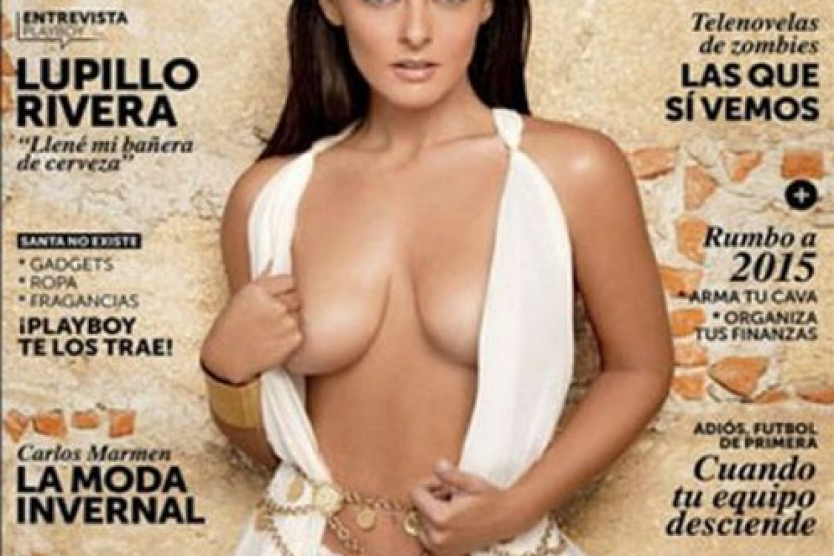 Andrea García, hija del actor mexicano Andrés García Foto:Playboy. Imagen Por: