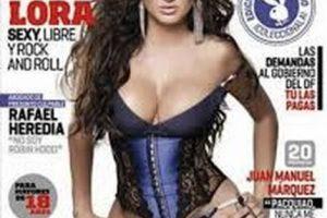 Celia Lora Foto:Playboy. Imagen Por: