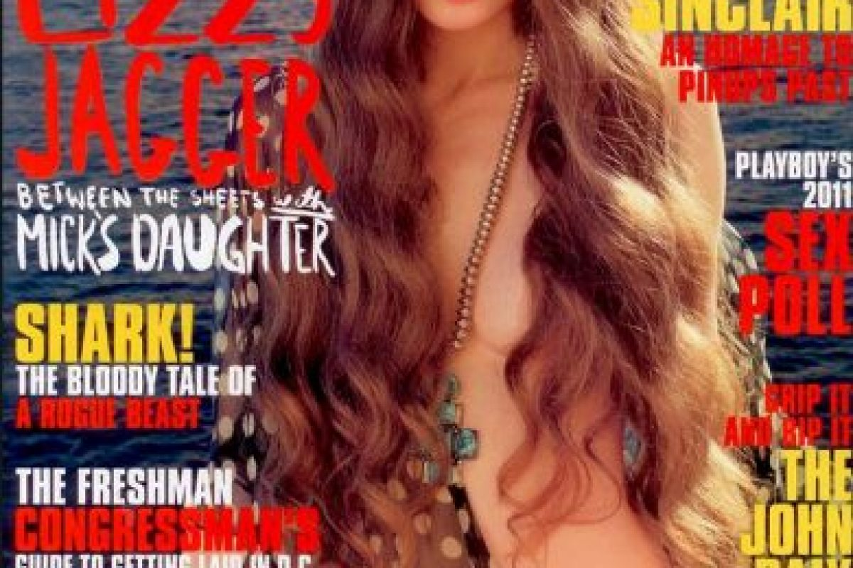 Lizzy Jagger Foto:Playboy. Imagen Por: