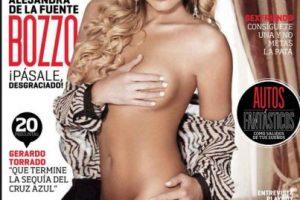 Alejandra de la Fuente Foto:Playboy. Imagen Por: