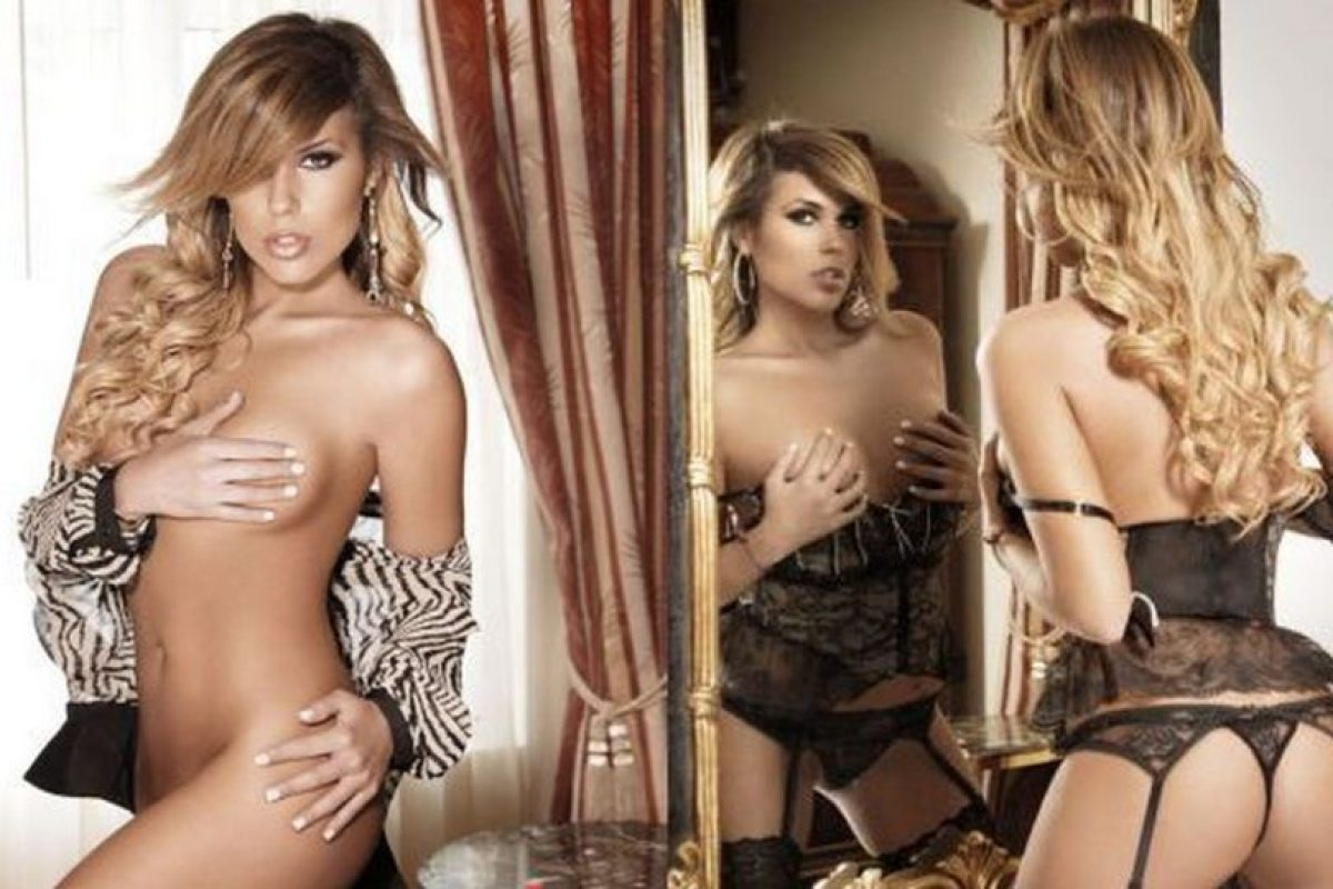 Hija de la conductora peruana de TV Laura Bozzo Foto:Playboy. Imagen Por: