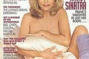 Nancy Sinatra Foto:Playboy. Imagen Por: