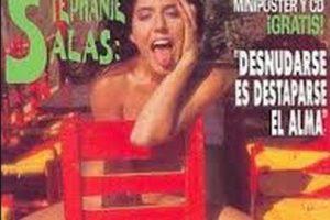 Stephanie Salas, hija de la actriz Silvia Pasquel y nieta de la actriz Silvia Pinal Foto:Playboy. Imagen Por: