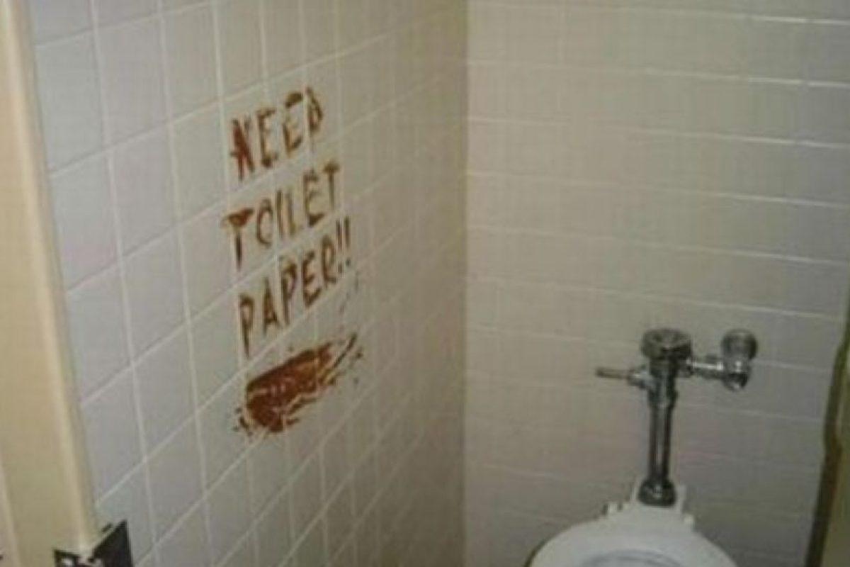 Alguien necesitaba papel higiénico. Foto:Twitter. Imagen Por: