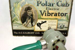 Este vibrador es de los años 20. Noten la punta y el material metálico (sin asepsia). Imagen Por: