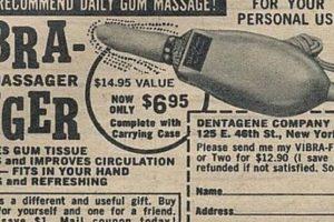 """Este vibrador """"mejoraba la circulación"""" y era muy específico. Foto:Gurl. Imagen Por:"""