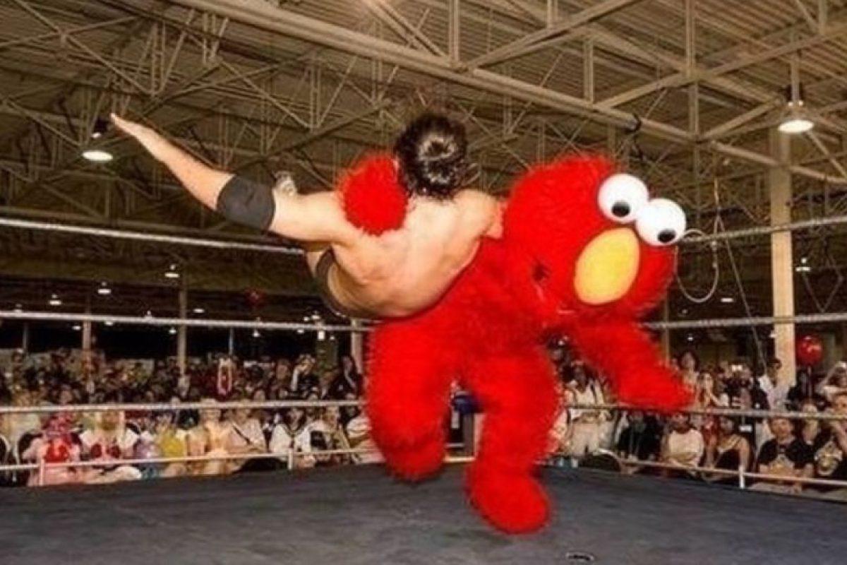 Elmo gana. Foto:HumorTrain. Imagen Por: