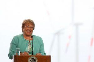 Presidenta Michelle Bachelet Foto:AgenciaUNO. Imagen Por: