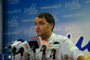Diputado UDI, Javier Macaya Foto:AgenciaUNO. Imagen Por: